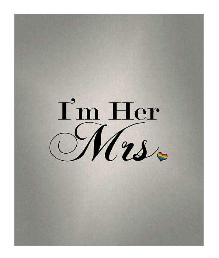 I'm Her Mrs.