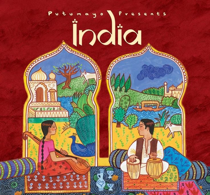 Putumayo World Music.....i love world music and Indian music just has a certain romance to it. Lots of illusion and smokiness in the vibe, even if you cant understand you can feel w music...and Indian music can be very enticing