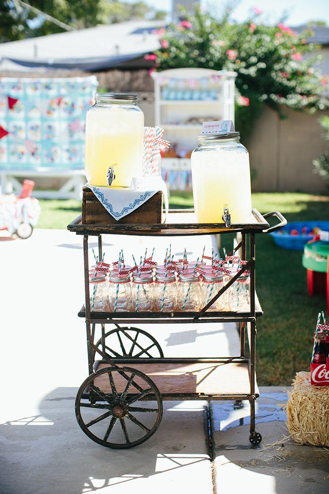 Adorable Vintage County Fair Birthday Party Inspiration and Photos   Pizzazzerie