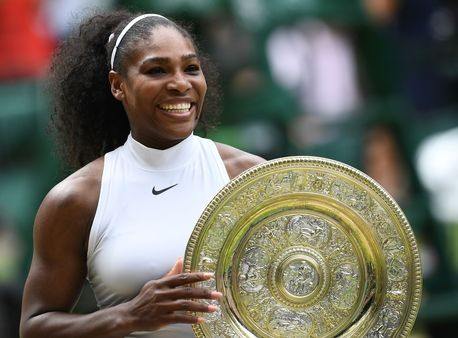 Hard work - an essential married to natural genius in every great athlete! Yeah Serena!! #RunLikeAGirl