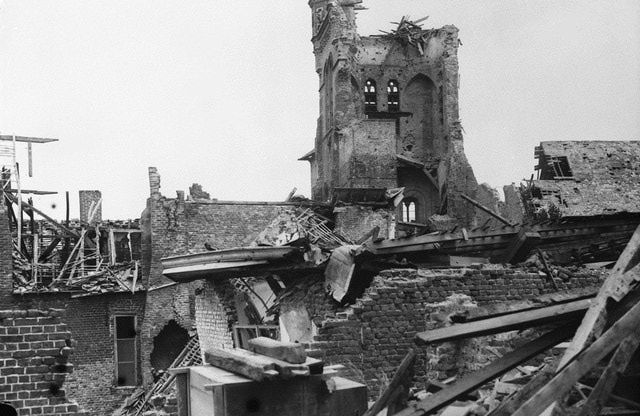 Maui, Qiana (sec 1): In 1915, the second Battle of Ypres established the reputation of the Canadians as a fighting force. This is a picture of the place after the battle ended.