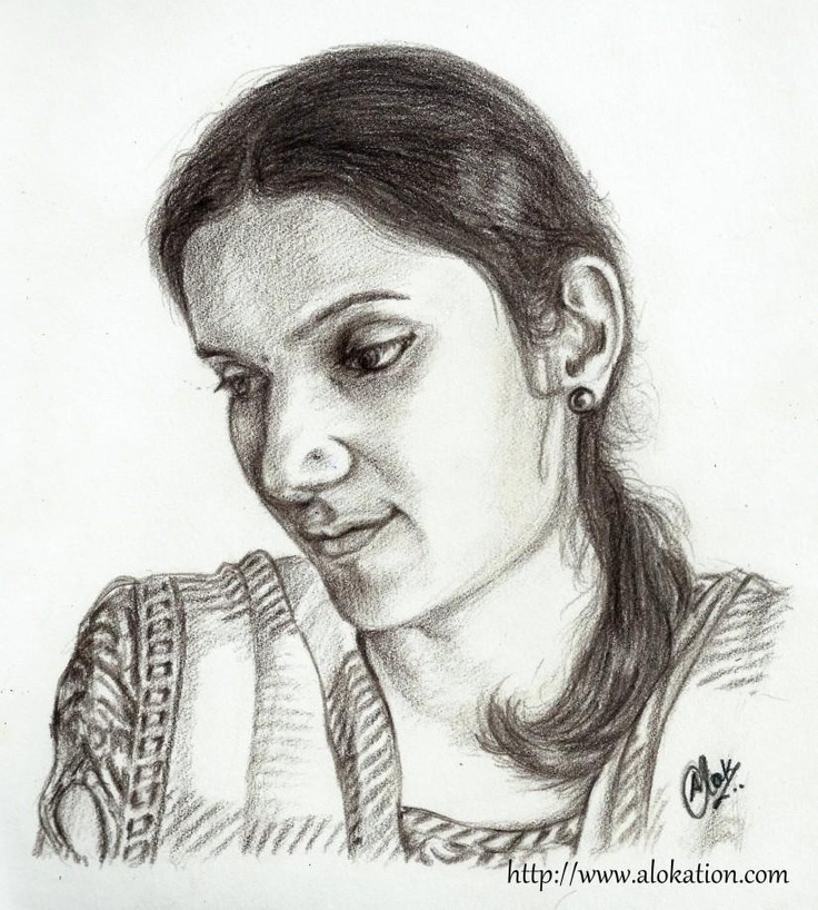 My Friends on Canvas -  P-01 - Sketching by Alok Kumar in Portraits at touchtalent 72751 #sketch #art
