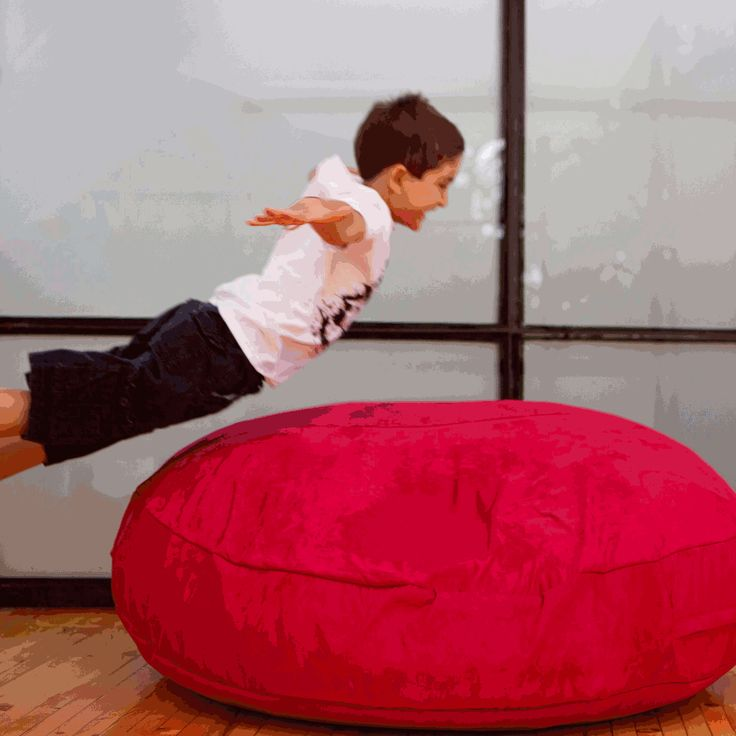 Jaxx Floor Pillows : Jaxx Cocoon Jr - Flat floor pillow, soft squishy chair and cozy cocoon nest. . Find it at ...