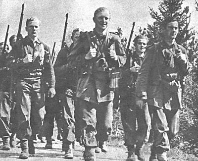 Det danske militær fik, i efteråret 1943, tilladelse til at etablere en hemmelig, toptrænet hær i Sverige, Danforce. Også kaldet: Den Danske Brigade. Et klart brud på Sveriges neutralitetspolitik. Den dansk hærs tilstedeværelse i det neutrale Sverige blev klaret med at kalde den for en politistyrke, der efter krigen skulle hjælpe med at sikre ro og orden i Danmark. Præcis hvad brigadens rolle skulle være var ingen dog helt enig om eller klar over.