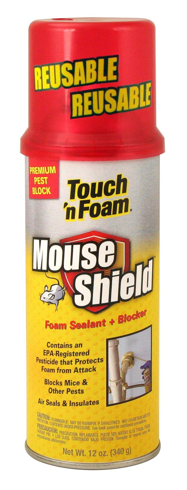 TouchNFoam 4001012506 Mouse Shield Foam Sealant