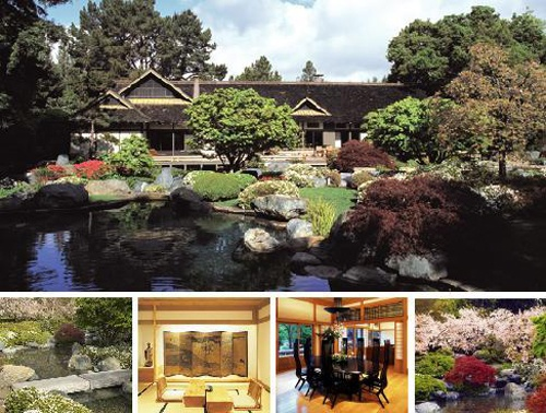 larry japanese house and garden in atherton - Larry Hernandez House