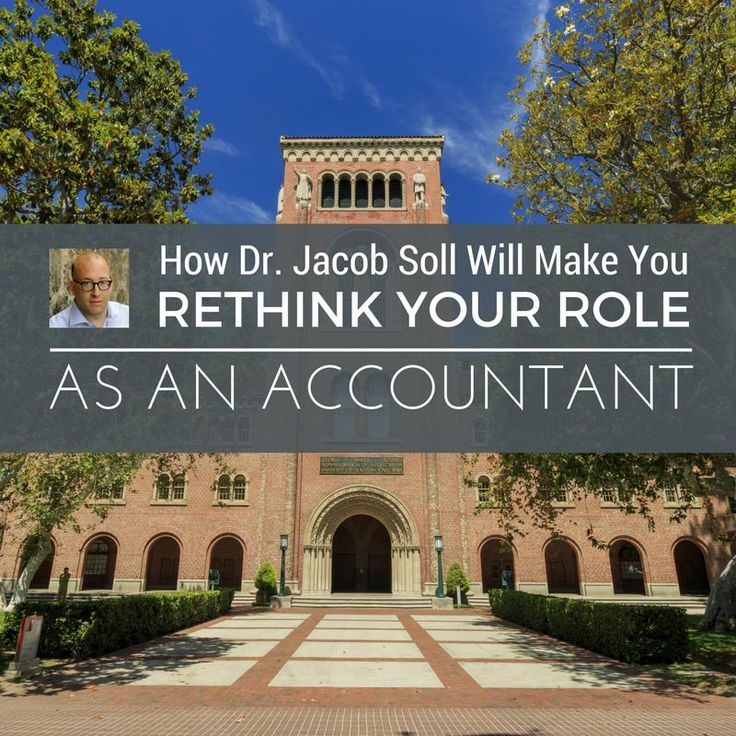 Jacob Soll Professor of Accounting u0026 History at