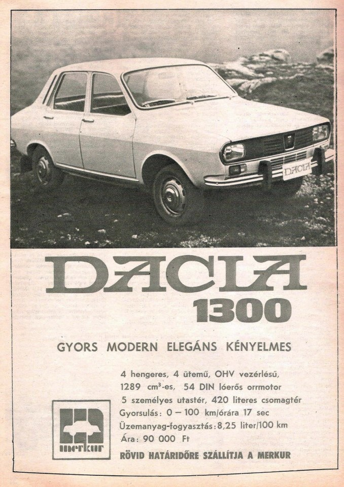 Dacia, 1975