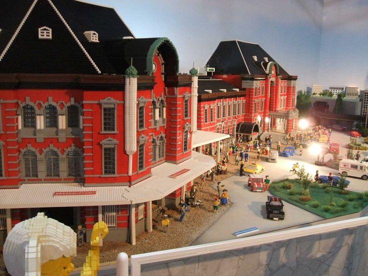 La ciudad de Tokio hecha con piezas de LEGO, menuda maravilla de creaciones. ¡Está toda la ciudad replicada!