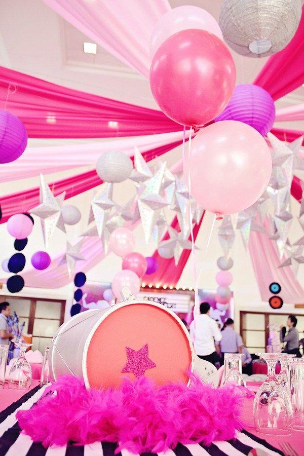Rockin Little Lady Themed Birthday PartiesBirthday
