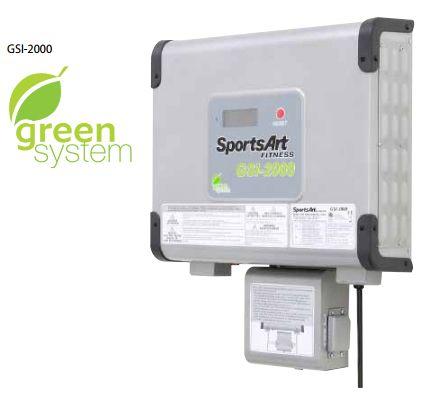 Inversor GSI-2000 Inverter Sports Art Ref D-0344 Ecopower Green System