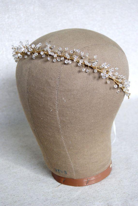 Braut Krone Crystal Baby Atem Krone Haar-Kranz Bridal