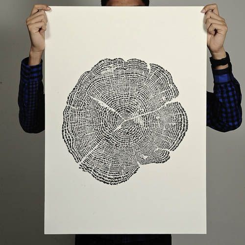 Tree of Life (made of tiny animal figures): Trees Rings, Trees Trunks, Tiny Animal, Animal Kingdom, Trees Of Life, Poster, Little Animal, Trees Stumps, Tree Of Life