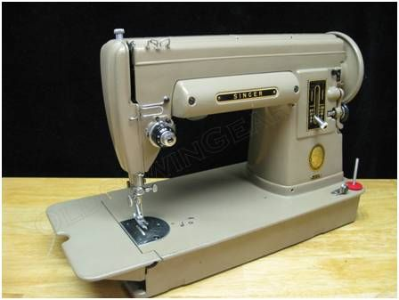 Looking for a straight-stitch sewing machine? Direct drive motor? Steel gears? There are a number of phenomenal vintage Singer sewing machines that will fill the bill; 15-91, 15-125, 201-1,...
