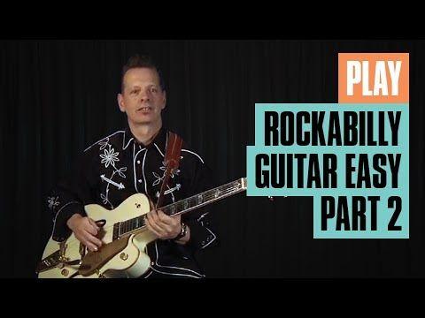 Play Rockabilly Guitar Easy Part 2 | Rockabilly Guitar Lesson | Guitar Tricks - YouTube