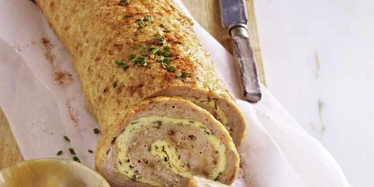Recipe for Chicken Roulade with Julienne Vegetables