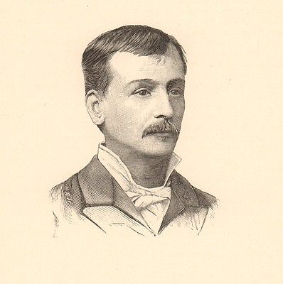 Portrait-XIXe-Georges-Courteline-Georges-Moinaux-Tours-Indre-et-Loire-Ecrivain