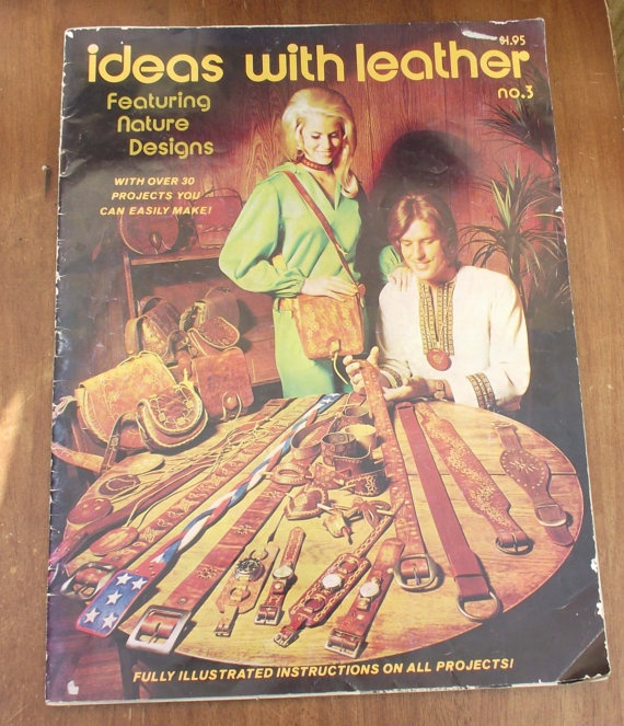 Tandy Ideas with Leather No 3 1971 by DaytonaVintage on Etsy, $19.95