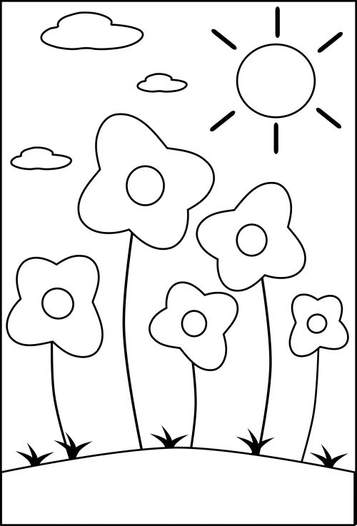 preschool plant coloring pages | 1000+ images about Seasons of the Year Coloring Pages on ...