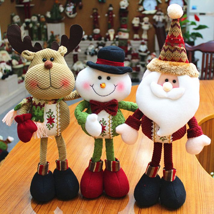 Find More Christmas Decoration Supplies Information about Merry christmas decoration supplies new year ornament toys inflatable santa claus deer rag doll SHB226,High Quality doll with 3 faces,China doll doll Suppliers, Cheap doll jersey from Chic Shoes Mall on Aliexpress.com