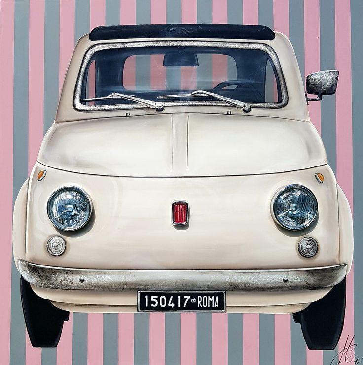 Fiat 500 Artwork 120x120