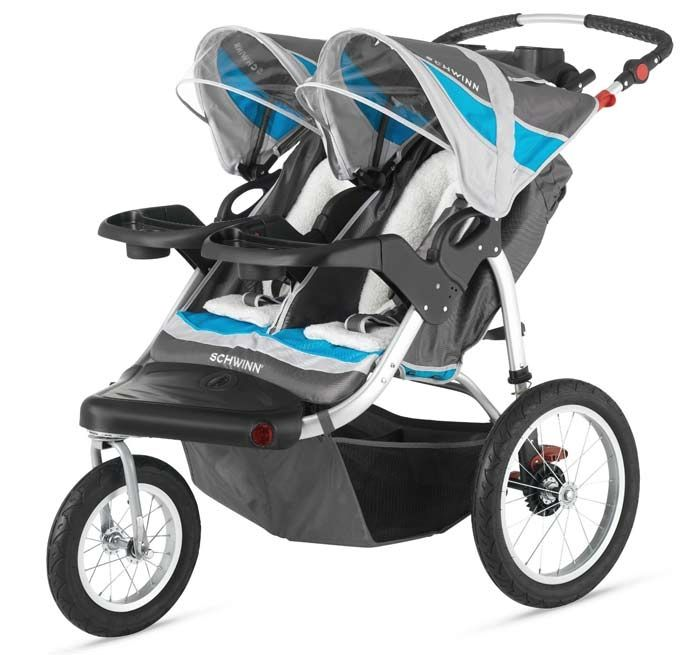 Double #jogging strollers - take your children jogging?