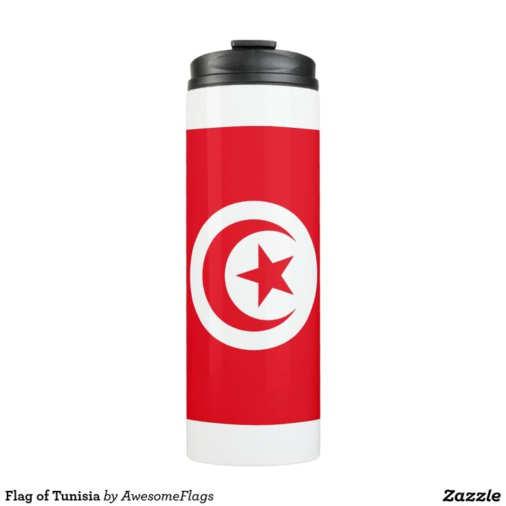 Flag of Tunisia Thermal Tumbler