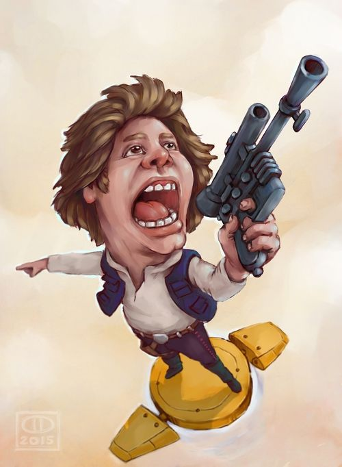 Han Solo - fan art