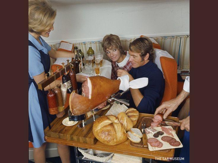 SAS airline food, 1950s-1980s