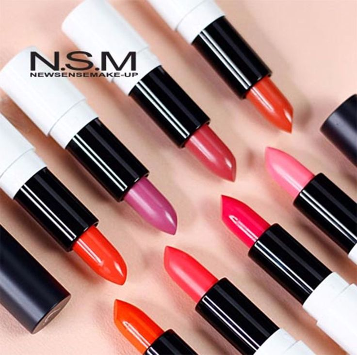 Amok N.S.M Neon Tint Lipstick Long Lasting Beautiful 21 Color #AMOK