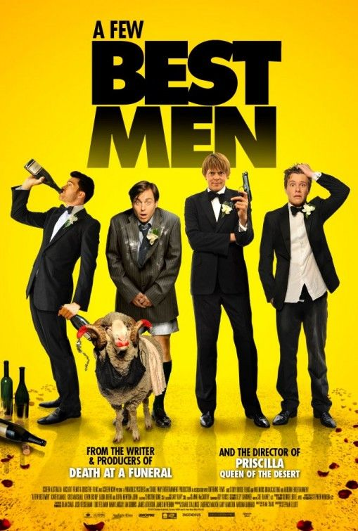 """Wild, raucous and awful, but nice to see Olivia Newton-John let loose in """"A Few Best Men"""", 1.5 stars. loved it!"""