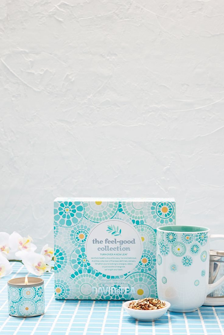 We think healthy should be easy, fun and delicious. And this collection of five limited edition feel-good teas definitely delivers.