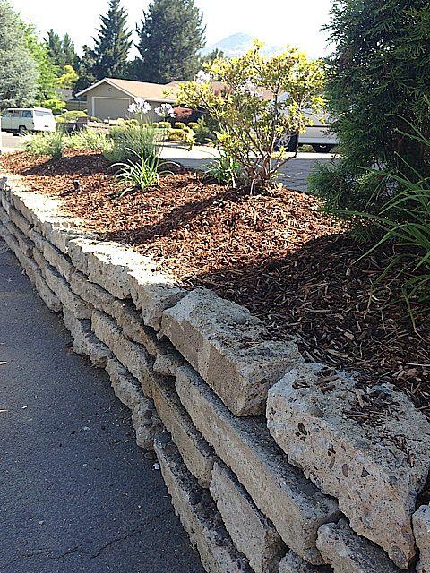 Cement Raised Flower Beds : Best broken concrete ideas on pinterest garden