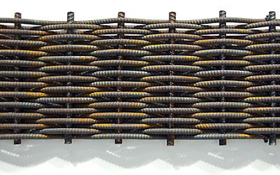 Ryan Brayak | Architect/Craftsman | Artwork: Woven Rebar