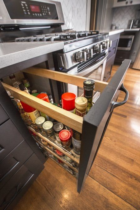 best 25 pull out spice rack ideas on pinterest diy spice rack kitchen ideas and spice drawer. Black Bedroom Furniture Sets. Home Design Ideas