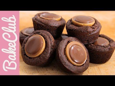 Toffifee Brownie Bites | BakeClub - YouTube