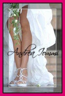 Andrea Iommi Calzature presso Andrea Iommi shoes sandali da sposa Andrea Iommi. www.andreaiommi.it  #scarpe #heels #stiletto #fashion #satin #white #scarpesumisura #women #tacco10 #bridalshoes #shoes