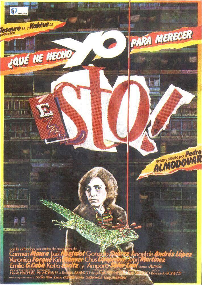 ¿Qué he hecho yo para merecer esto! (1984) España. Dir.: Pedro Almodóvar. Drama. Comedia. Familia. Migración. Feminismo - DVD CINE 2426