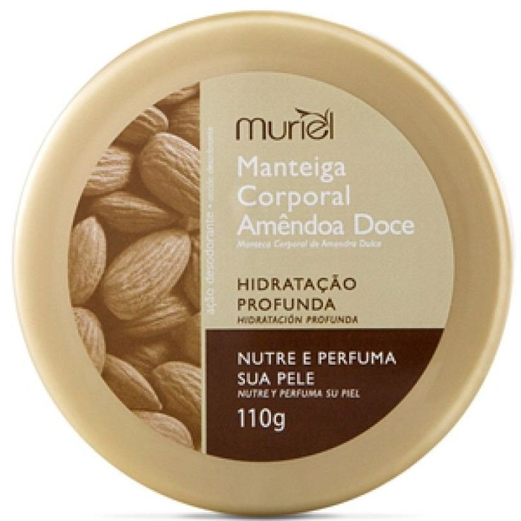 Manteiga Corporal Muriel 110gr Amendoas Doce - FarmaViver
