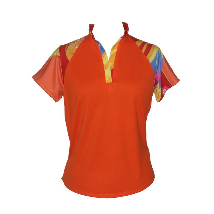 (http://www.ladygolfwear.com.au/sunshine-orange-golf-shirt/)