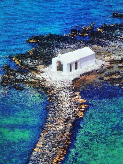 La chiesetta di Agios Nikolaos a Georgiopulis, Creta
