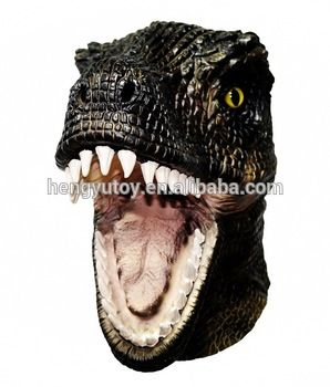 Cheap animal mask, Buy Quality masks free directly from China realistic costumes Suppliers: New arrival realistic costume part rubber latex dinosaur animal  Mask Free shipping