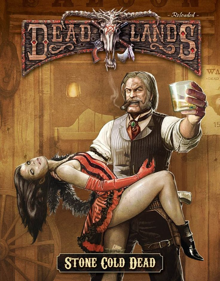 Deadlands stone cold dead by sadizzm tattoo cold