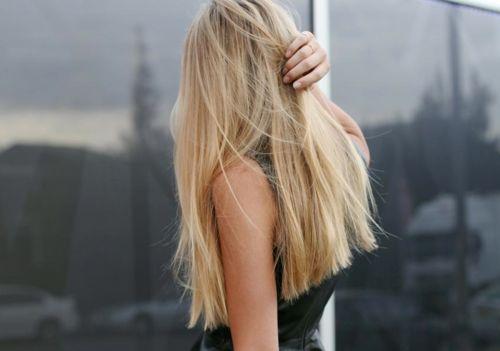 [long, blunt cut #hair]
