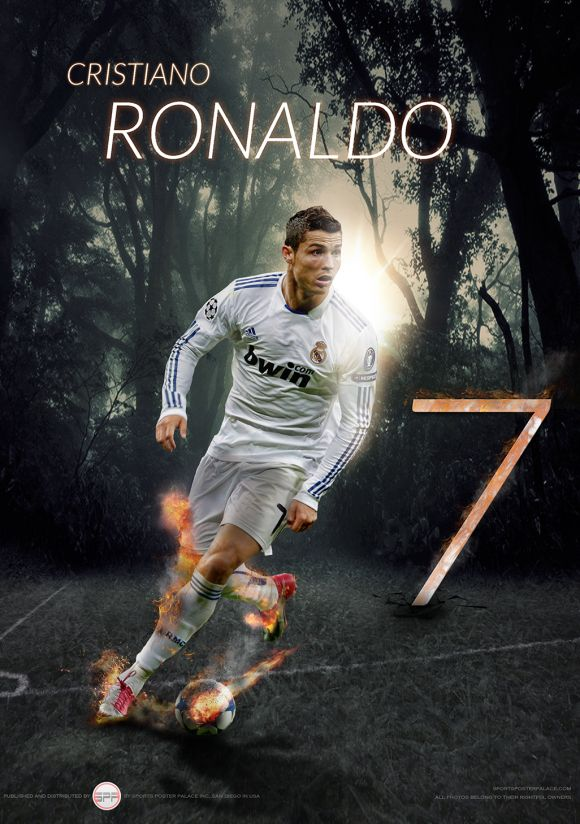 CRISTIANO RONALDO POSTER (14×20) | Sports Poster Palace