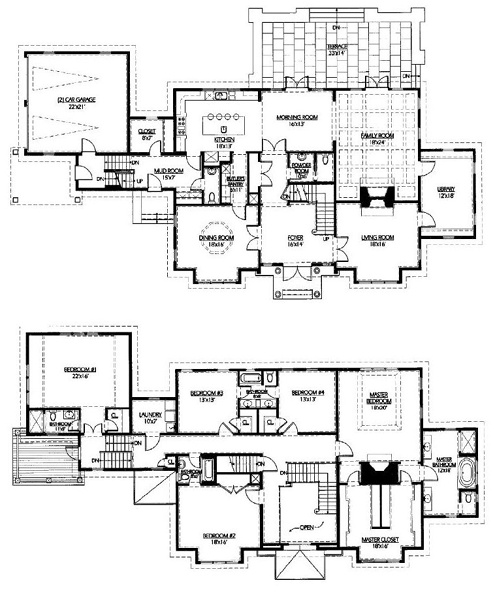 House plans butlers pantry mudroom house plans for House plans with mudroom