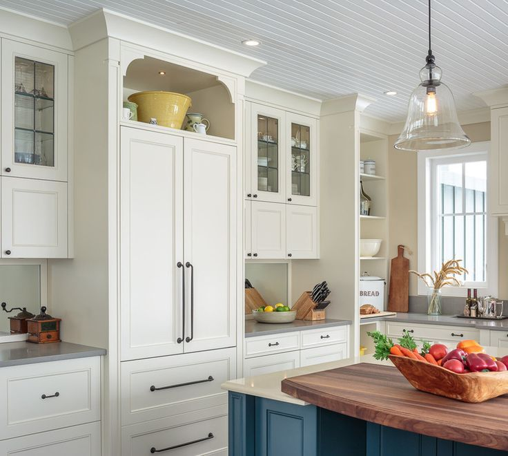 Love the difference in depth and interesting combinations.  The cove molding at the top is less traditional than crown.