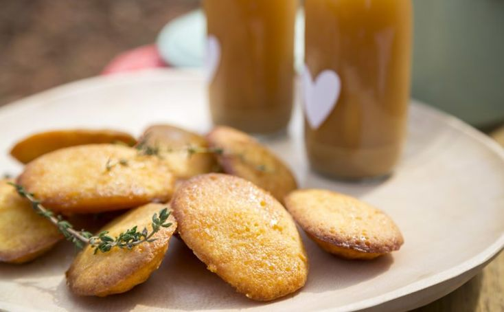 Orange and Thyme Madeleines