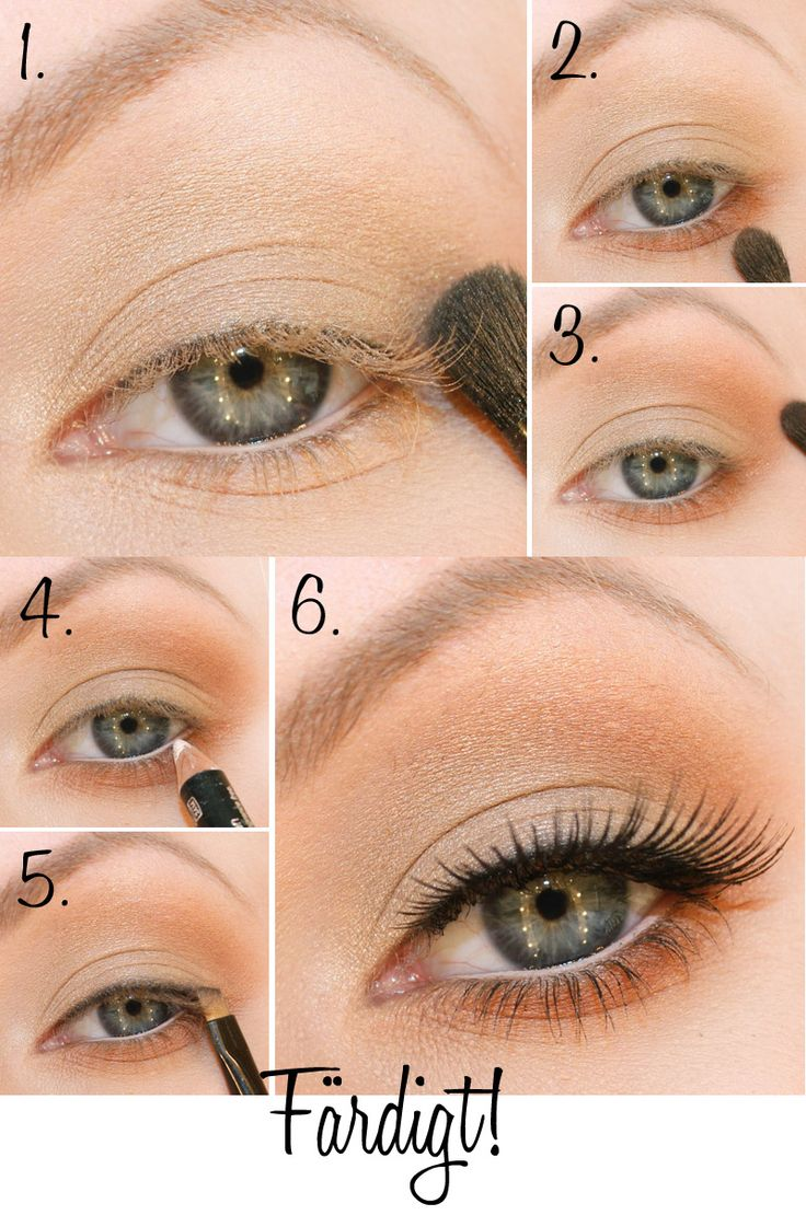 starting school makeup step by step