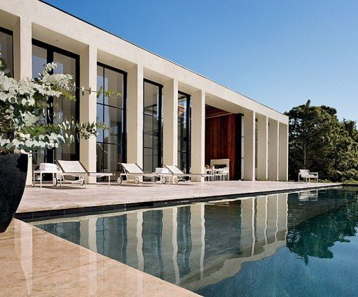 If only...: East Hampton, Pools Area, Hampton Pools, Architecture Pools, Architecture Facades, Contemporary Pools, Facades Architecture House, Architecture Digest, Modern Pools